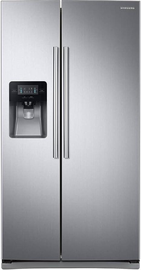 Samsung RS25J500DSR refrigerador lateral por lado de 36 pulgadas ...