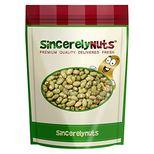Sincerely Nuts Dried Edamame Roasted & Salted - Two Lb. Bag -Superbly Crisp, Crunchy & Tasty - Amazingly Nutritious - Kosher Certified