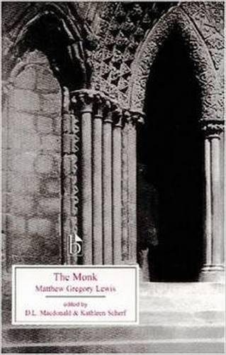 Book cover for The Monk