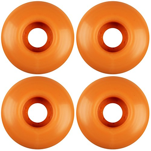 ダンスお客様列車USA Made Blank Skateboard Wheels 53 mmピーチ( Set of 4 )