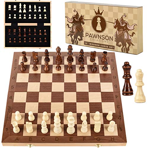 Wooden Chess Set for
