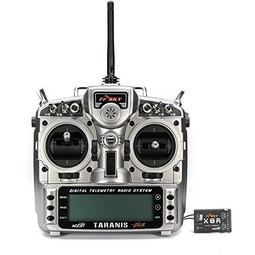 FrSky-ACCST-Taranis-X9D-PLUS-16CH-24GHz-Transmitter-with-X8R