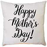 VECDY 43cm x 43cm Square Bed Sofa Pillow Case with Beautiful Print, Mother's Day Festival Decorative Cushion Covers(One Size,B)