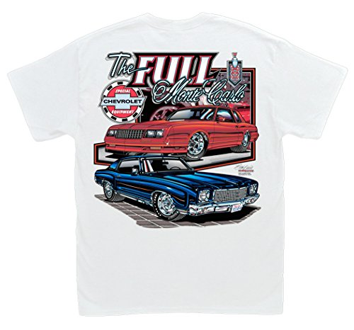Hot Shirts The Full Monte Carlo SS T-Shirt: Large - Chevrolet Chevy 350 SS454 NASCAR