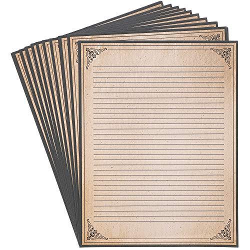 Juvale Vintage Stationary Paper,...