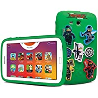 Samsung - Galaxy Kids Tablet 7.0', The Lego Ninjago Movie Edition, White