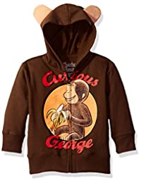 Curious George boys Toddler Boys Character Hoodie