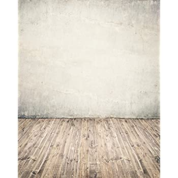 d01433885b1251 Beige Concrete Wall Backdrop Vintage Retro Grunge Cement Wall Brown Wood  Floor Planks Chic Stylish White