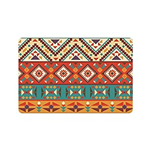 Amazon Com Interestprint Colorful Navajo Anti Slip Door