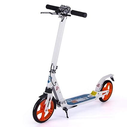 Patinetes Scooters para Adultos pequeños con Freno de Mano ...