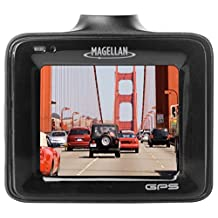 "Magellan 1080P Full HD Dash Camera with Enhanced Low Light Performance, Included 8GB SD Card (Expandable up to 128GB) - 2.0"" - Black - MiVue 320"