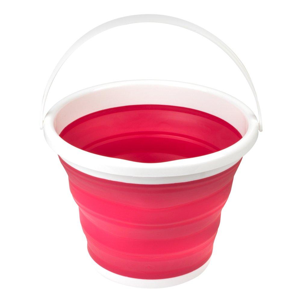 Beldray LA028495GRY Gris 10 litros Cubo Plegable (Rojo) product image