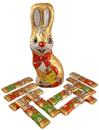 Riegelein Confiserie Big Easter Bunny Basket Filler Bundle - 2 Items: 8