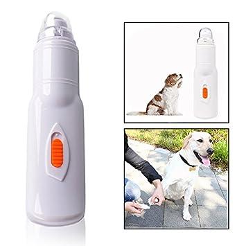 OFKPO Lima de Uñas Eléctrica (Amoladora de Uñas), Apta para Perros, Gatos, Super Silencioso, Baterías no Incluidas, Color Blanco: Amazon.es: Electrónica