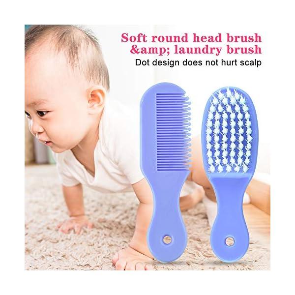 Kit per la Cura del Bambino Forbicine Neonati Kit Manicure Neonato Tagliaunghie Neonato Set Neonato Igiene per la cura… 5