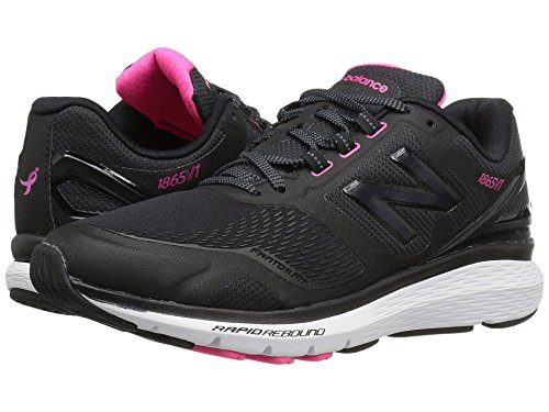 (ニューバランス) New Balance レディースウォーキングシューズ?靴 WW1865v1 Black/White 10.5 (27.5cm) 2A - Narrow