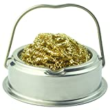 GSUMA Soldering Iron Tip Cleaner with Brass Wire Sponge, No Water Needed