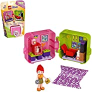 LEGO Friends Mia's Shopping Play Cube 41408 Building Kit, Includes a Collectible Mini-Doll, for Creative Fun,