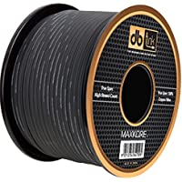 Maxkore MKSW12BK250 12-Gauge Black 250 Feet Maxkore Power Wire