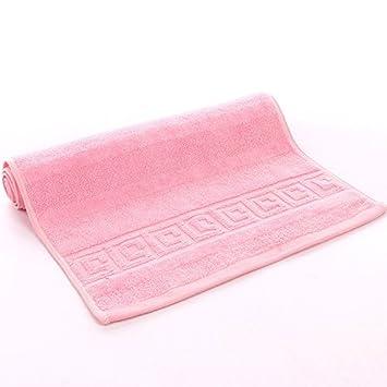 mmynl Pixel Color Fluffy toallas de algodón de 35 * 75 cm rosa: Amazon.es: Hogar