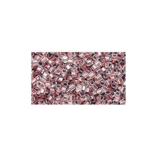 (Miyuki Delica Hex Seed Bead 11/0 DBC0037, Copper Lined Crystal, 9-Gram/Pack)
