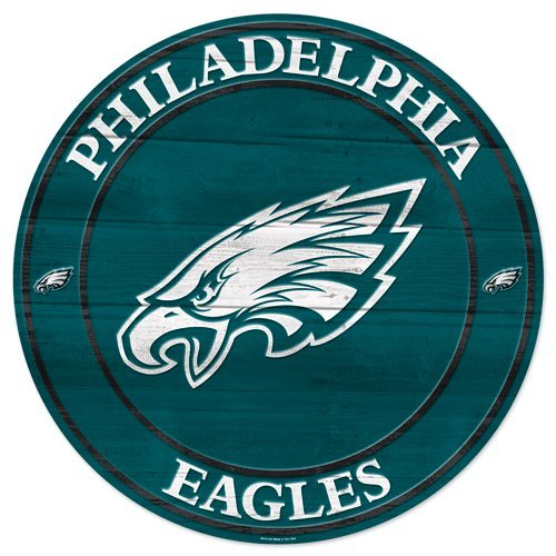 WinCraft NFL Philadelphia Eagles 56724011 Wood Sign, 19.75'' by WinCraft