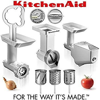 Amazon Com Kitchenaid Fppc Attachment Pack New Grinder