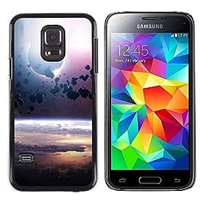 Shell-Star Arte & diseño plástico duro Fundas Cover Cubre Hard Case Cover para Samsung Galaxy S5 Mini / Galaxy S5 Mini Duos / SM-G800 !!!NOT S5 REGULAR! ( Space Planet Galaxy Stars 76 )