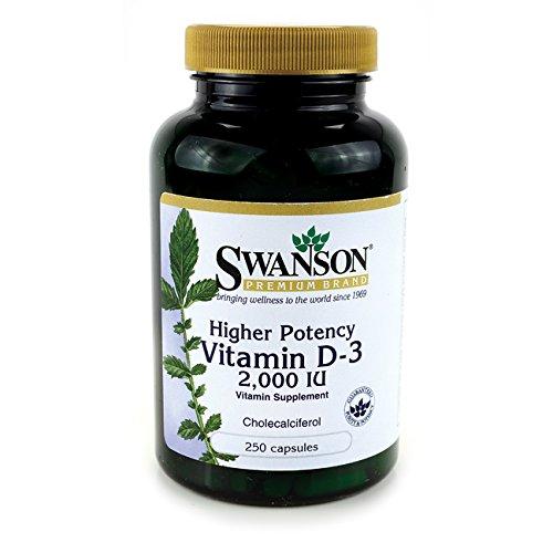 Higher Potency Vitamin D 3 Caps