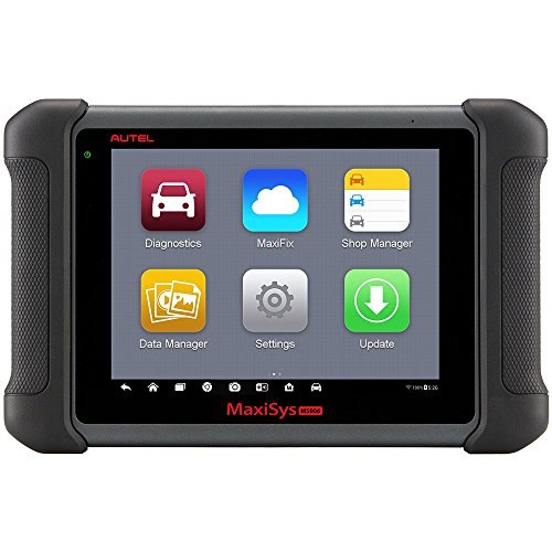 Autel Maxisys MS906 OBDII Automotive Diagnostic Scanner (Upgraded version of DS708/DS808) with OE-level vehicle coverage of Read/Erase Codes, Actuation Tests, Adaptations etc. (Tech 2 Gm Scanner)