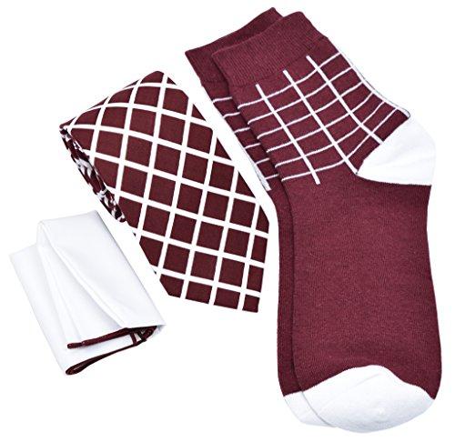 Kingsquare Mens Necktie Pocket Square product image