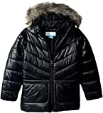 Columbia Big Girls' Katelyn Crest Mid Jacket, Black, Small