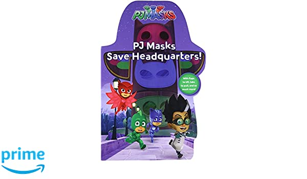 Pj Masks Save Headquarters!: Amazon.es: Daphne Pendergrass, Style Guide: Libros en idiomas extranjeros