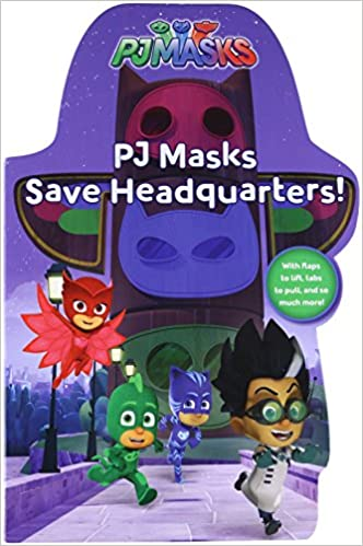 Amazon.com: PJ Masks Save Headquarters! (9781481495523): Daphne Pendergrass, Style Guide: Books