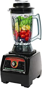Commercial Grade Blender 3.9L/1.03 Gallon Professional Electric Blender Machine 2800W Countertop Mixer for juice, frozen mixtures, sauces, cereal and coffee