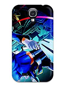 Lynn R Brock Premium Protective Hard Case For Galaxy S4- Nice Design - Blazblue