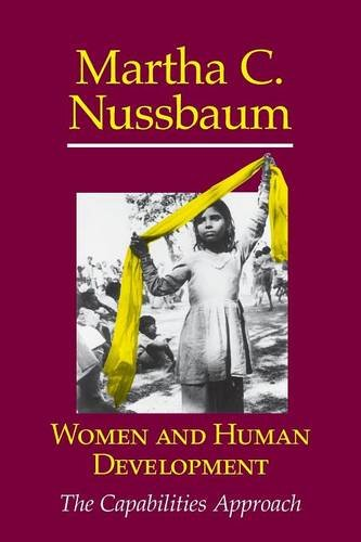 Women and Human Development: The Capabilities Approach (The Seeley Lectures)