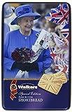 Walkers Shortbread Union Jack Queen Keepsake Tin, 8.8 Ounce