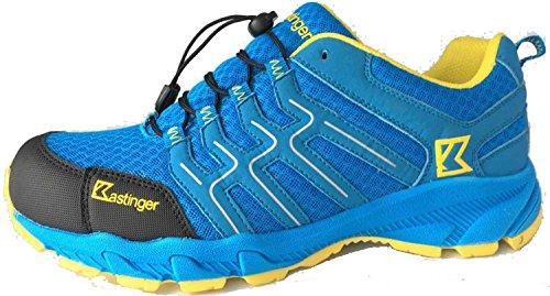 Kastinger Trailrunner 22350-511 Herren Leichtwanderhalbschuh Blau (Blue/Black/Yellow)