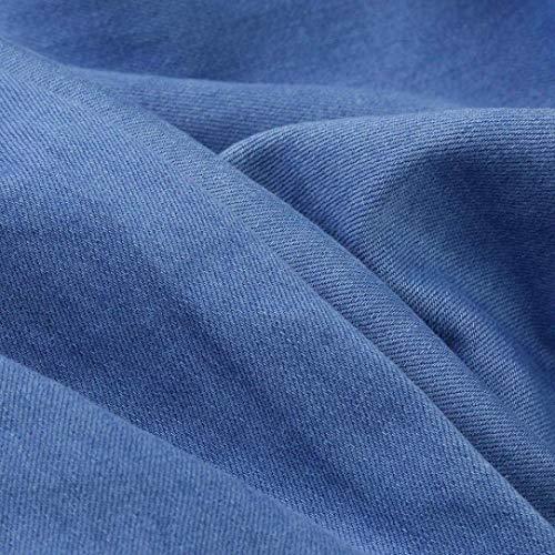 Claro Mezclilla Los Destruido Denim Cómodo Battercake Estrecho Vintage Blau Flaco Hombres Vaqueros Pantalones Rasgados Azul De 0cz0Hg1W