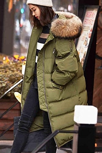 Generic Korean winter Nagymaros collar down jacket Girls long paragraph Slim fashion hooded down jacket Slim student for women girl