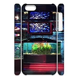 3D City 100 IPhone 5C Case, Design Protective Case Apple Iphone 5c Case Luxury Okaycosama {White}