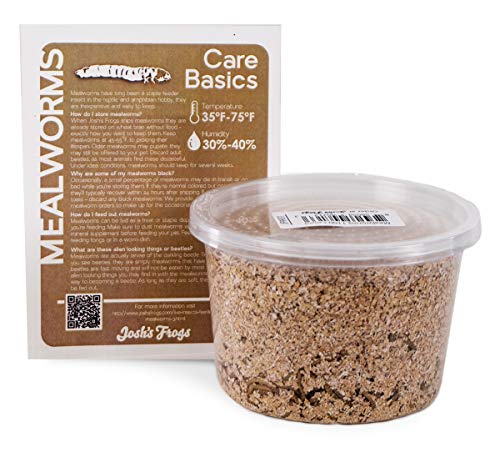 Josh's Frogs Mealworms (1000 Count)