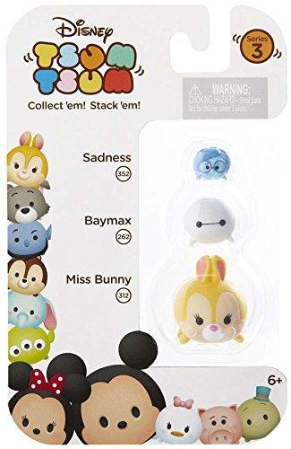 (Disney Tsum Tsum Series 3 Sadness, Baymax & Miss Bunny 1