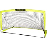 Franklin Sports Blackhawk Portable Soccer Goal - Large - 6.5 x 3.25 Foot