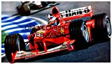 OnlyClassics Michael Schumacher Ferrari F1 2000 Formula ONE Grand Prix AUTO Racing Art Poster