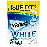 180-Count Trident White Sugar-Free Peppermint Flavor Gum