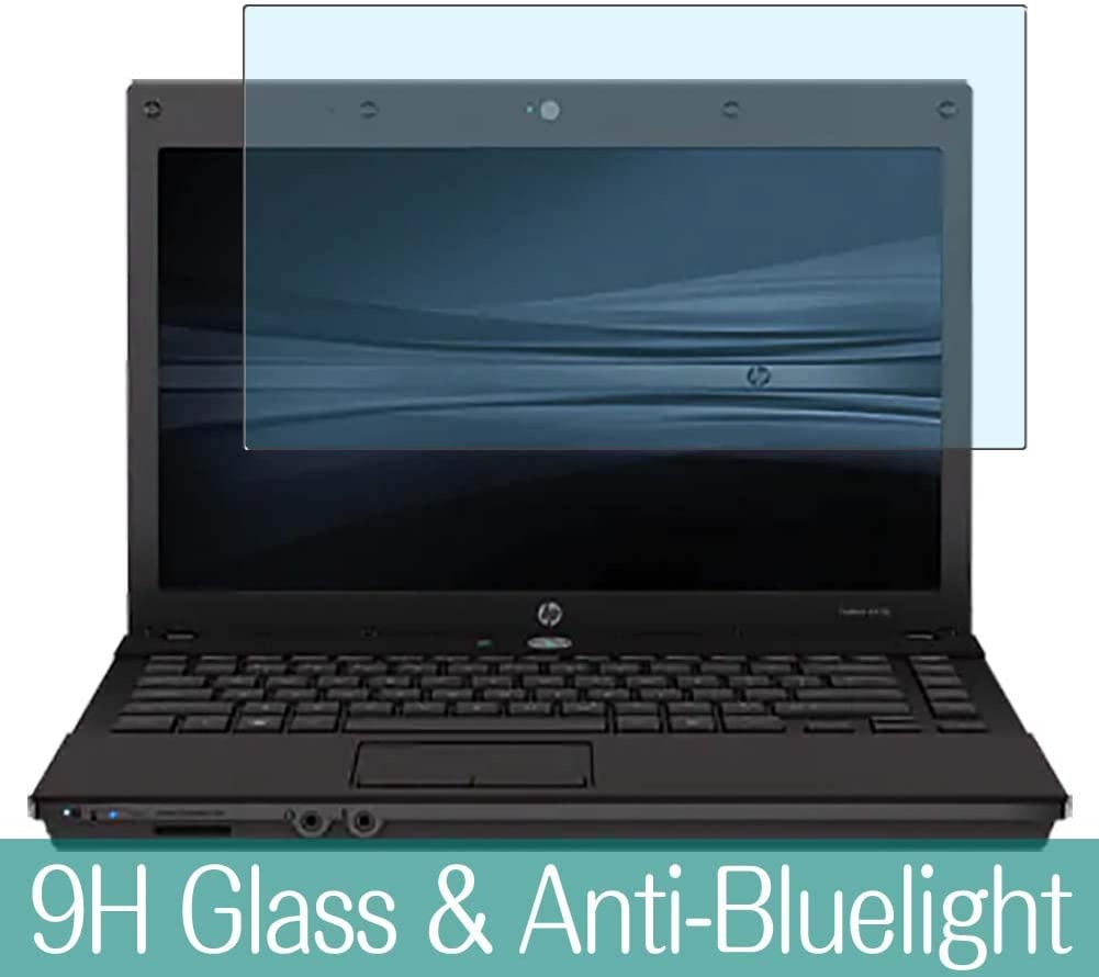 """Synvy Anti Blue Light Tempered Glass Screen Protector for HP ProBook 4410s 14"""" Visible Area 9H Protective Screen Film Protectors"""