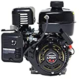 """Lifan LF160F-AHQ 4 HP 118cc 4-Stroke OHV Industrial Grade Gas Engine with 6:1 Gear Reduction and 3/4"""" Keyway Shaft, Recoil and Start Universal Mounting Pattern"""
