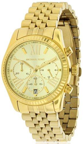 Michael Kors MK5556 Ladies Gold Plated Chronograph Watch